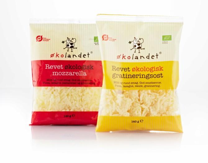 Økolandet økologisk ost emballagedesign – Falengreen