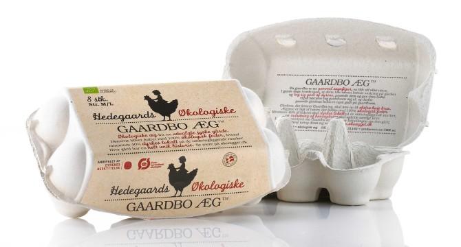 Gaardbo æg økologi emballagedesign – Hedegaard