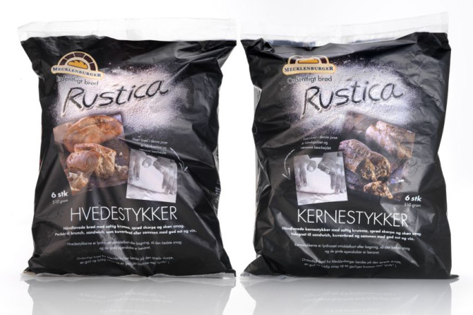 Rustica brød emballagedesign – Mecklenburger