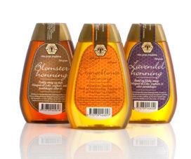 Emballagedesign honning Den gode tradition – Jakobsen & Hvam