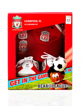 Liverpool FC Accessories Packaging Design – Bear League