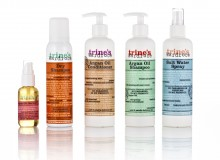 Trines Wardrobe Haircare Emballage Design