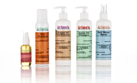 Trines Wardrobe haircare emballagdesign