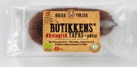 Butikkens Bio Tapas Wurst Verpackungsdesign – Højer Pølser