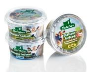 Emballagedesign til Økologisk flødeost fra Endelave