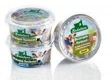 Økologisk flødeost emballagedesign