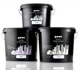 Vores Maling Paint Private Label Emballagedesign Packaging Design