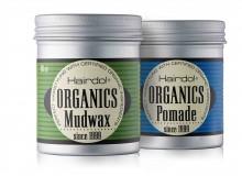 Emballagedesign Hairdo Organics økologisk voks