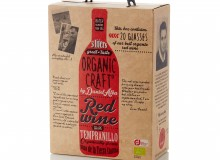 Emballagedesign til Organic Craft Wine