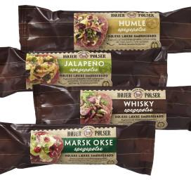 Emballagedesign Højer Pølser Gourmet smørrebrød