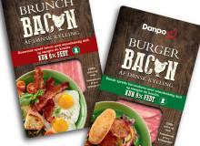 Emballagedesign Brunch- og Burger kyllingbacon