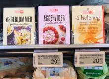 Emballagedesign til pasteuriserede æg fra Danæg