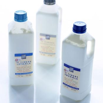 Emballagedesign til Iso økologisk mælk – Iso Supermarked