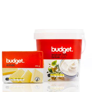 Budget private label emballegedesign – Dansk Supermarked
