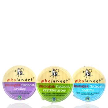 Økolandet ost økologi emballagedesign – Falengreen