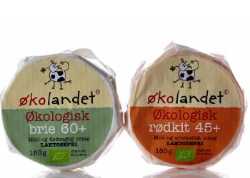 Økolandet økologisk brie emballagedesign – Falengreen