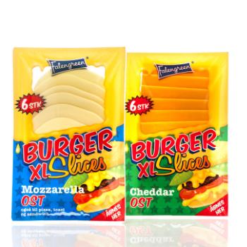 Burger Slices XL emballagedesign – Falengreen