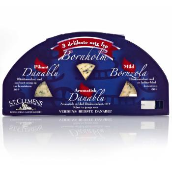 Danablu ost emballagedesign – Bornholms Andelsmejeri