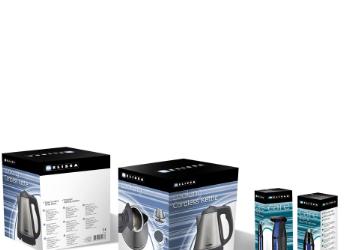 Melissa husholdnings og personlig pleje elektronik emballagedesign