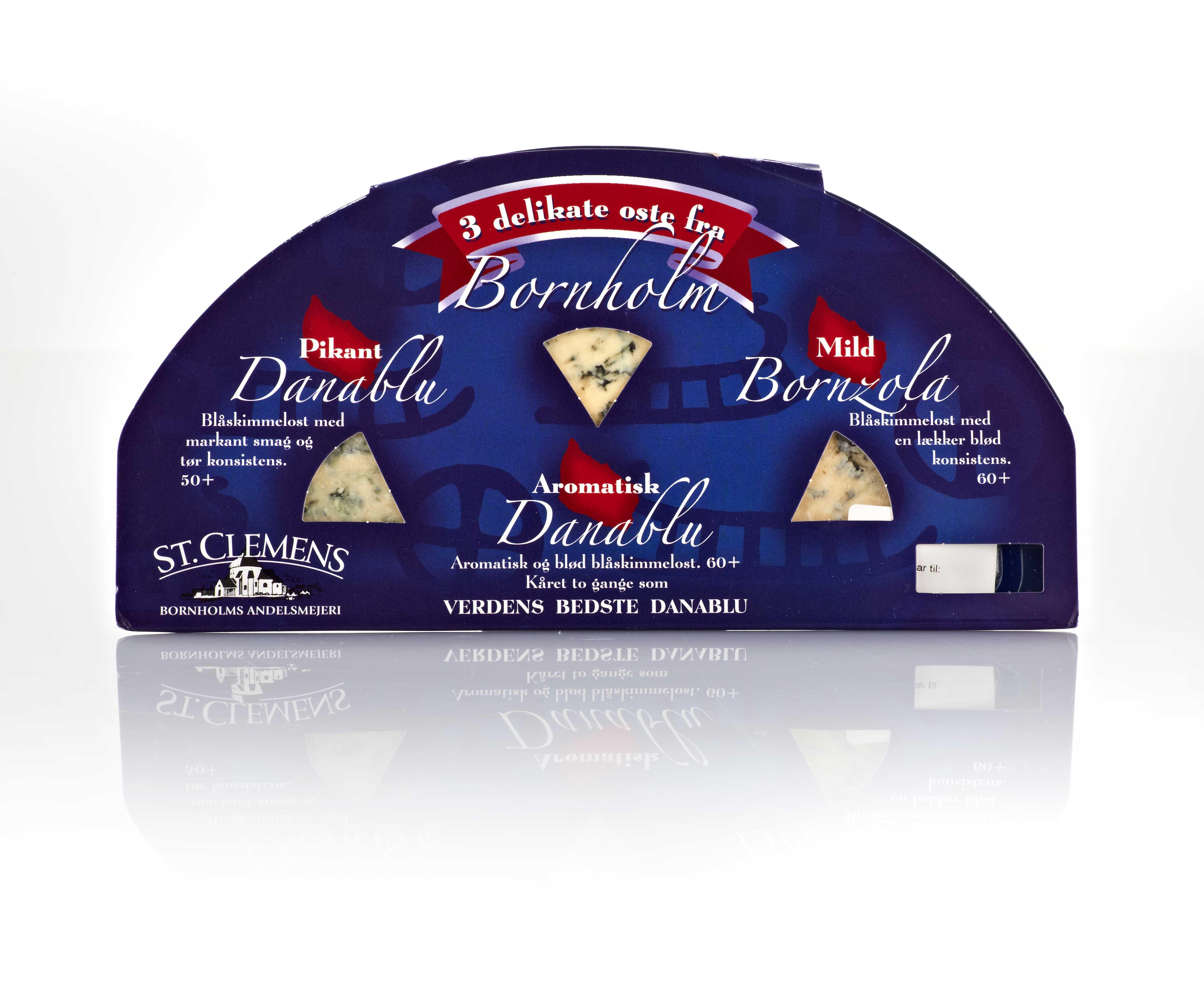 Danablue Cheese Packaging Design – Bornholms Andelsmejeri