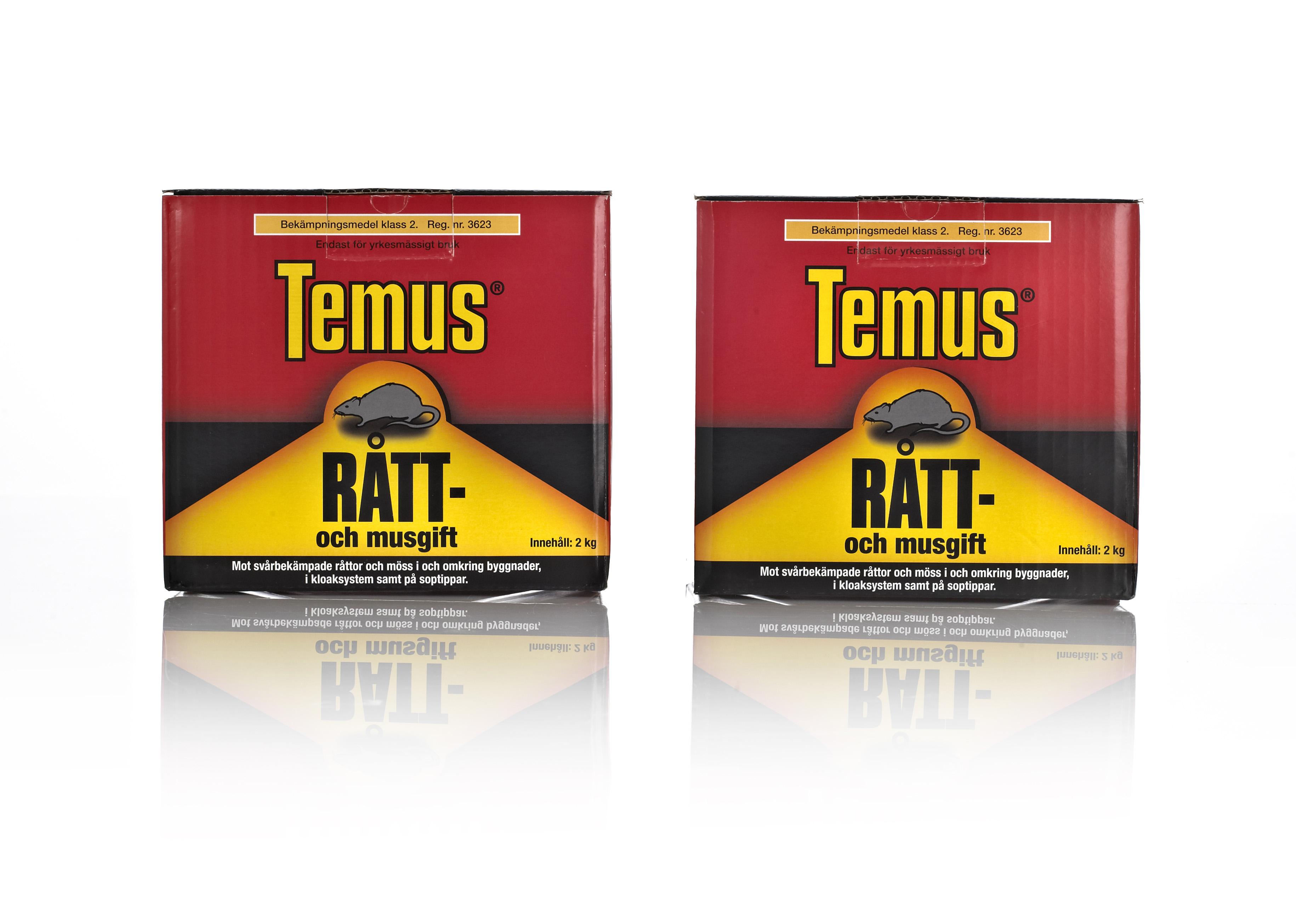 Temus Rotte- og musegift emballagedesign