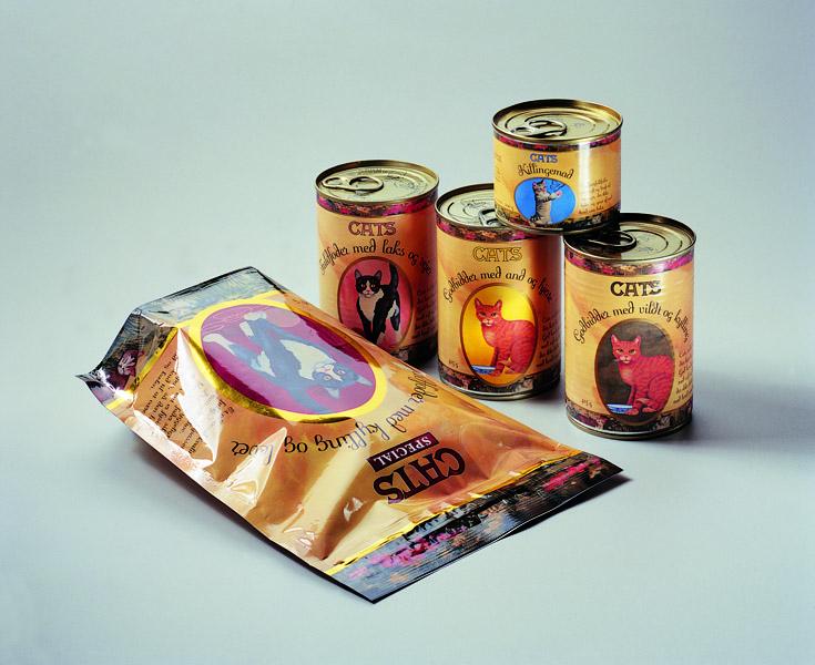 Cats catfood private label Packaging Design – Dansk Supermarked
