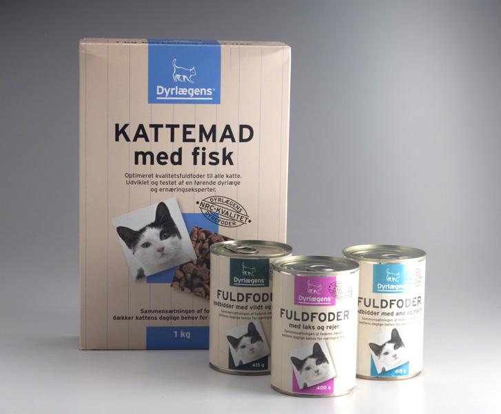 Veterinarian Pet Food Private Label Packaging Design – Dansk Supermarked