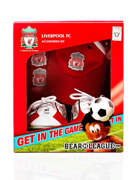 Liverpool FC Accessories Packaging Design – Bear League