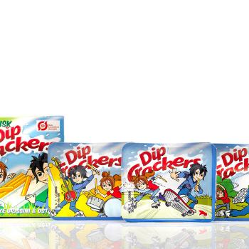 Dip Crackers økologi emballagedesign – Falengreen