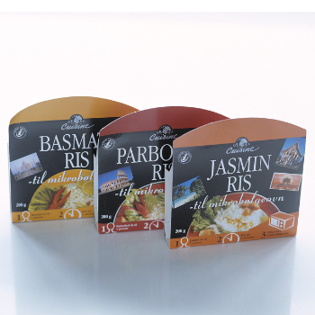 Global Cuisine Rice Private Label Packaging Design – Dansk Supermarked