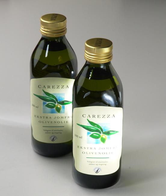 Carezza Extra Olive Oil Private Label Packaging Design – Dansk Supermarked