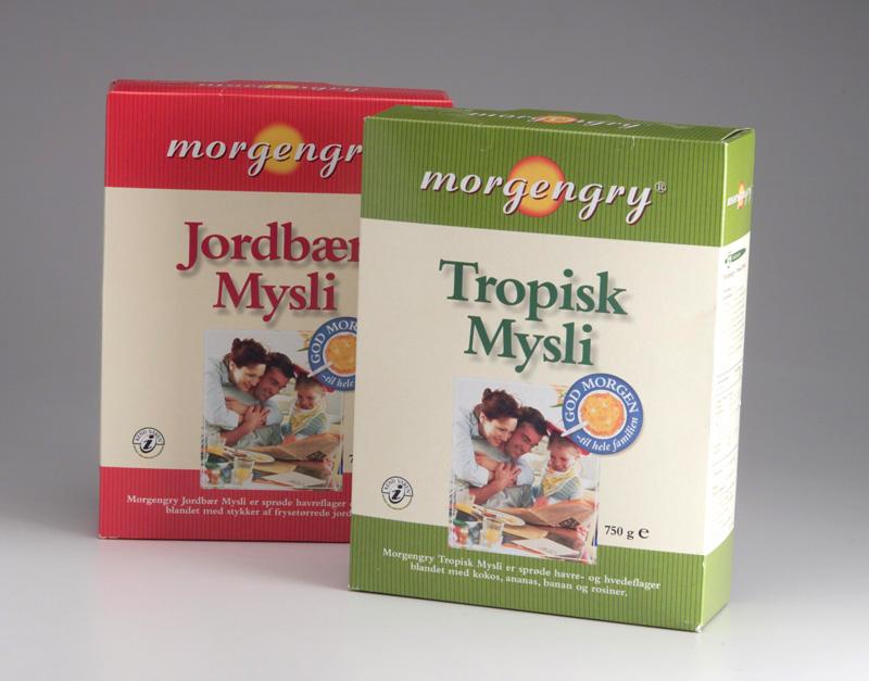 Muesli Private Label Packaging Design – Dansk Supermarked
