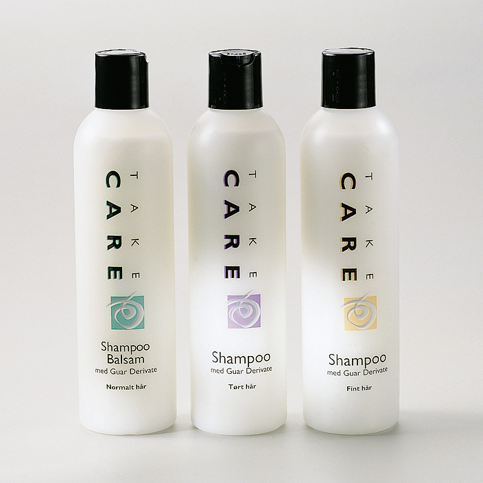 Take Care haircare private label Packaging Design – Dansk Supermarked