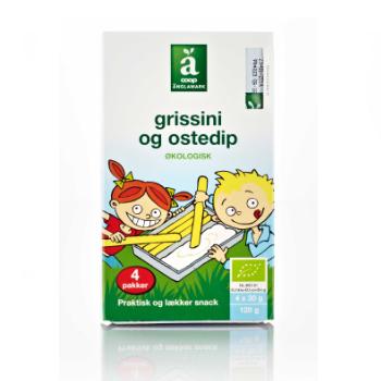 Änglemark økologisk ostedip emballagedesign – COOP
