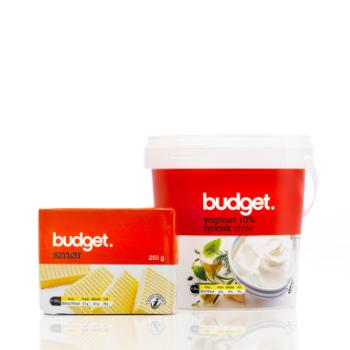 Emballagedesign til Budget Smør og Tyrkisk Yoghurt af Pack Design