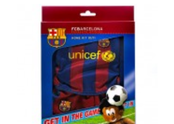 FC Barcelona Acc legetøj emballagedesign – Bear League