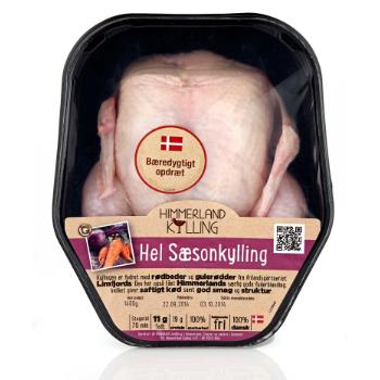 Himmerland Sæsonkylling emballagedesign – Himmerland Kylling