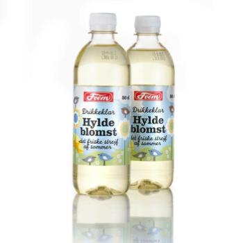 Emballagedesign til drikkeklar Hyldeblomst saft for Frem Vand af Pack Design