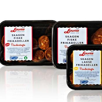 Emballagedesign til Skagen Fiskefrikadeller for Launis af Pack Design