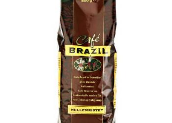 Emballagedesign til Cafe Brazil Kaffe for Dansk Supermarked af Pack Design