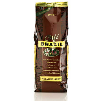 Cafe Brazil Coffee Private Label Packaging Design – Dansk Supermarked
