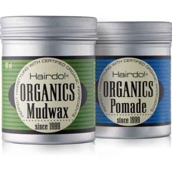 Emballagedesign Hairdo Organics voks af Pack Design