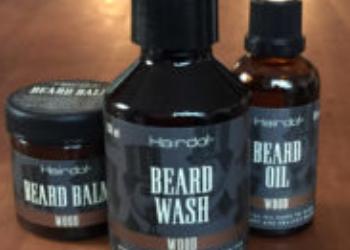 Emballagedesign til Hairdo Beard serie