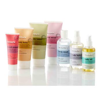 Emballagedesign til Trines Wardrobe skincare produkter