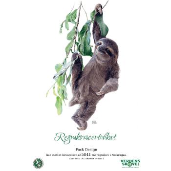 Pack Design er igen i 2021 Regnskovsstøtte for Verdens Skove